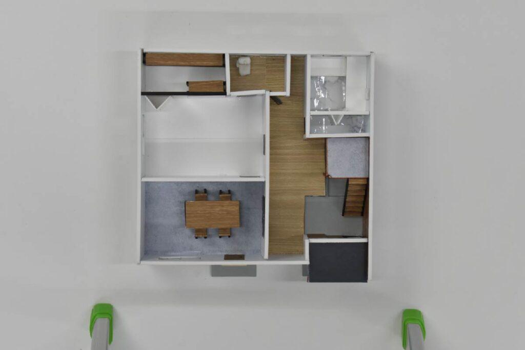 #4 一階模型
