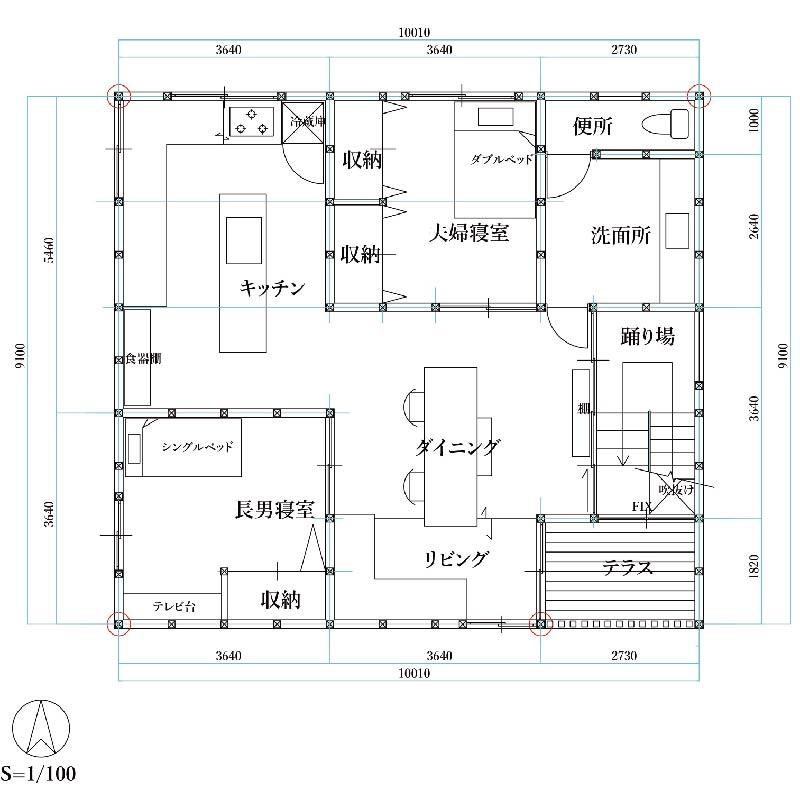 #2 二階平面図