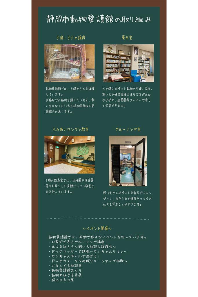 静岡市動物愛護館の取り組み