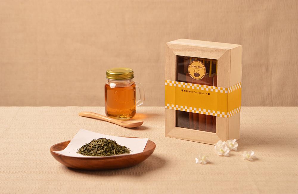 緑茶×蜂蜜
