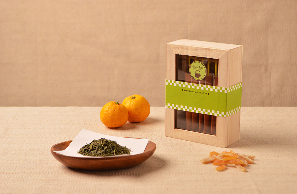 緑茶×柚子
