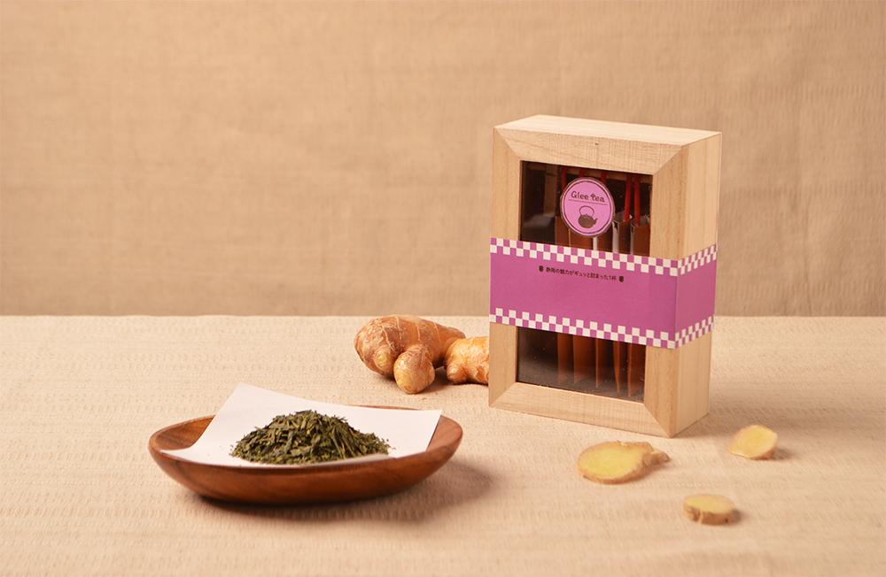 緑茶×生姜