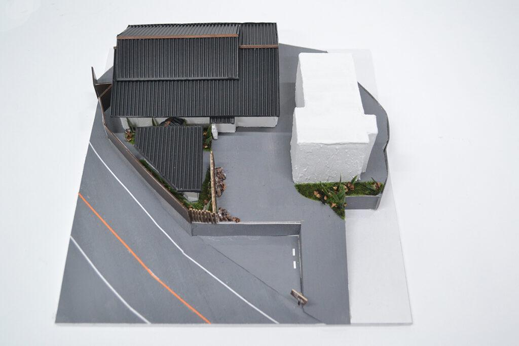 配置図 模型